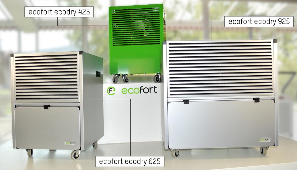 ecofort ecodry Gerätewahl