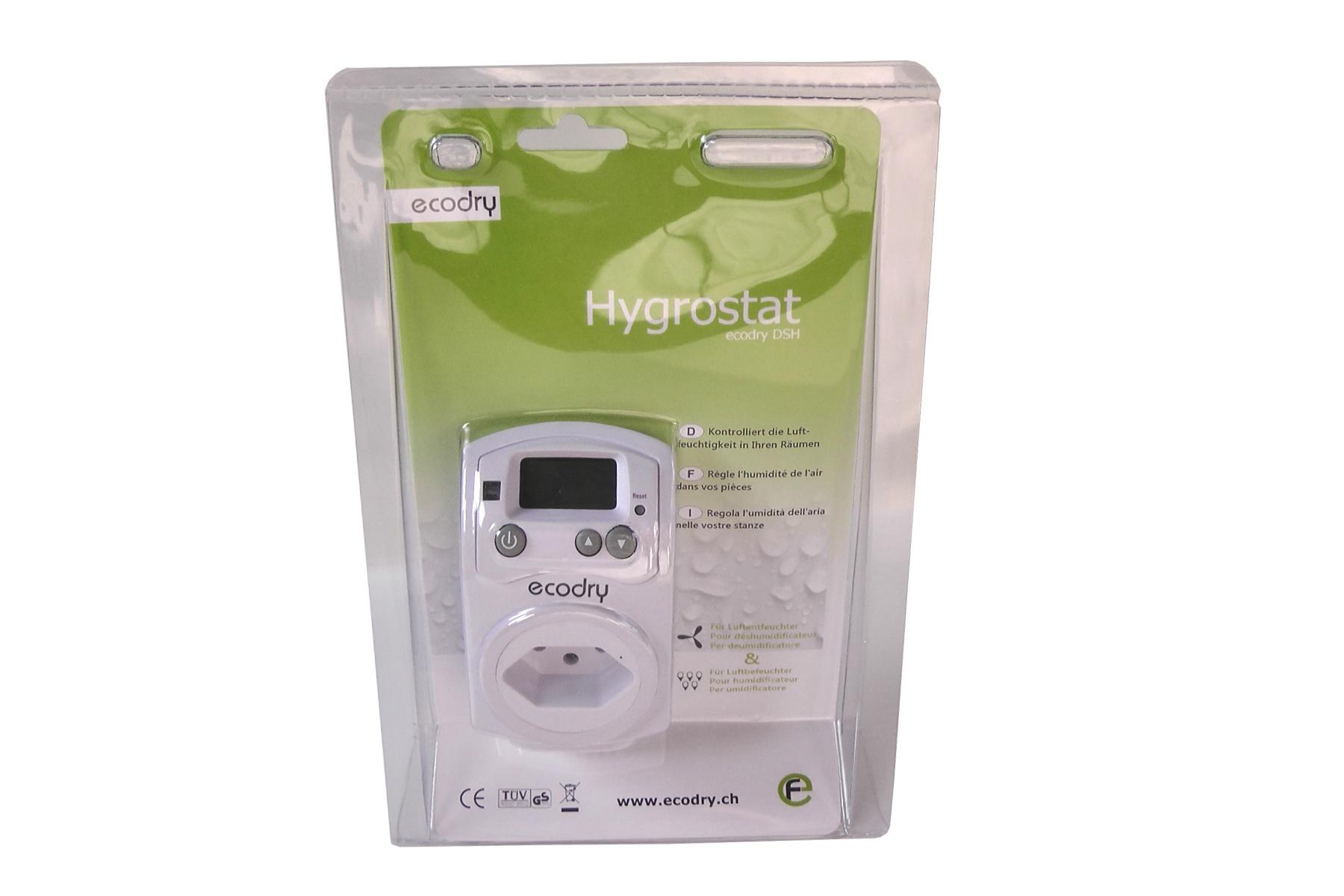 Ecodry DSH Steckdosen-Hygrostat