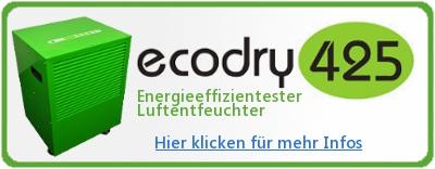 ecodry 425 entfeuchter informationen