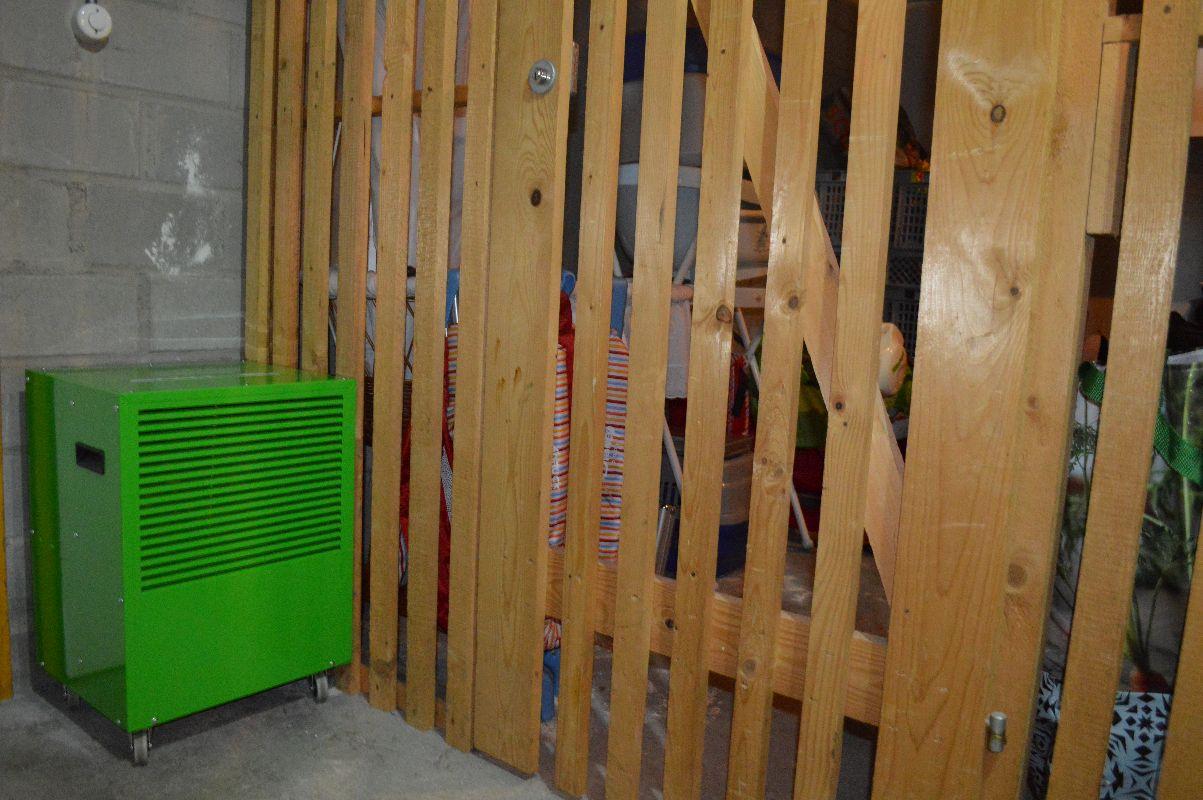 Luftentfeuchtung Für Mehrere Kellerabteile