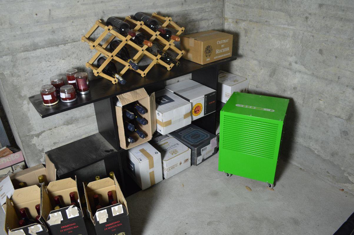 Feuchter Weinkeller