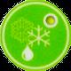 ecodry Entfeuchter Enteisungs-Anzeige