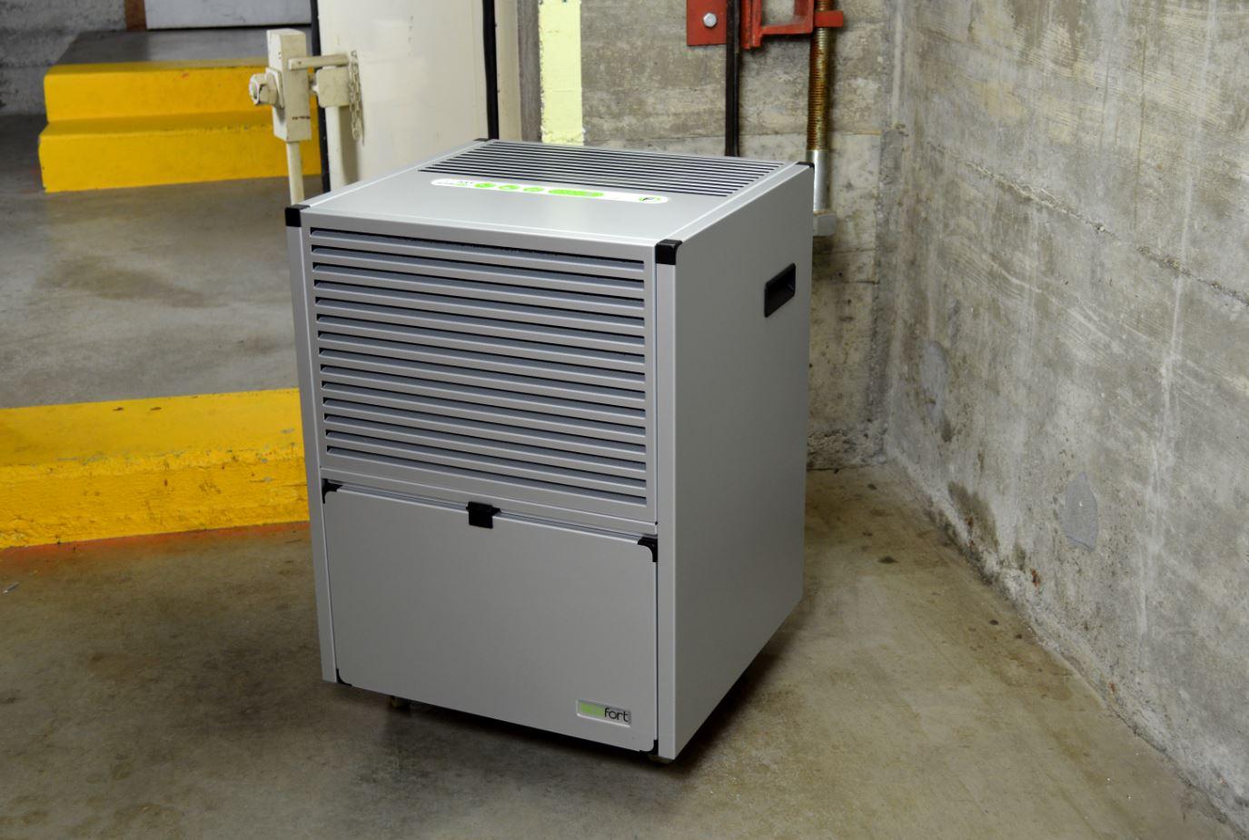 Luftentfeuchter für Zivilschutzanlage (ecodry 625)